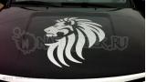 """Наклейка на авто """"Голова льва"""""""