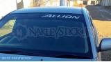 """Наклейка на авто """"Toyota Allion"""""""