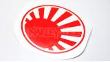 """Наклейка на авто """"Флаг Японской империи"""" круг"""