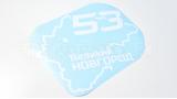"""Наклейка на авто """"Регион 53. Новгородская область"""""""