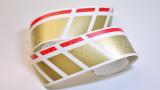 Спортивные полосы на бока Фольксваген Поло, вид 3
