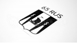 """Наклейка на авто """"Регион 65 RUS. Сахалин"""""""