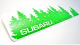 """Наклейка на авто """"Subaru лес"""""""