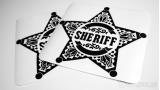 "Наклейка на авто ""Шериф"""