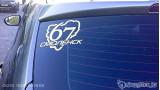"""Наклейка на авто """"Регион 67. Смоленск"""""""