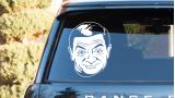 """Наклейка на авто """"Мистер Бин"""""""