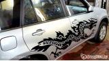 """Наклейка на авто """"Дракон 11"""""""