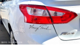 "Наклейка на авто ""Автограф Генри Форда"""