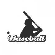 """Наклейка на авто """"Baseball"""""""