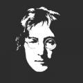 """Наклейка на авто """"Джон Леннон"""""""