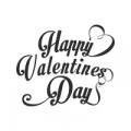 """Наклейка на авто """"Happy Valentine's day"""""""