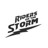 """Наклейка на авто """"Riders on the storm. Оседлавшие шторм"""""""
