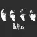 "Наклейка на авто ""The Beatles"""