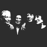 """Наклейка на авто """"The Rolling Stones"""""""