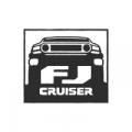 """Наклейка на авто """"FJ Cruiser"""""""