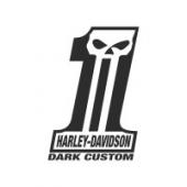 "Наклейка ""Harley Davidson Dark Custom"""