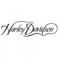 "Наклейка ""Харлей Дэвидсон надпись"""