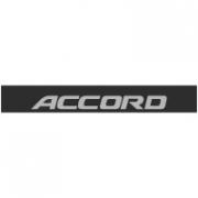 "Наклейка полоса ""Honda Accord"" на лобовое стекло 130 х 18 см"