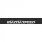 """Наклейка полоса """"Mazdaspeed Zoom-zoom"""" на лобовое стекло 130 х 18 см"""
