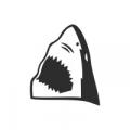 """Наклейка на авто """"Пасть акулы"""""""