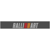"""Наклейка полоса """"Ralliart"""" на лобовое стекло 135 х 20 см"""