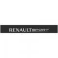 """Наклейка полоса """"Renault sport"""" на лобовое стекло 130 х 18 см"""
