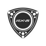 """Наклейка на авто """"Эмблема Мазда Ротари RX-8"""""""