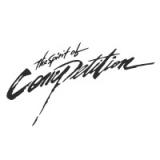 "Наклейка на авто ""The spirit of competition"""