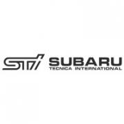 "Наклейка на авто ""STI subaru"""