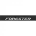 """Наклейка полоса """"Subaru Forester"""" на лобовое стекло 140 х 18 см"""
