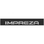 """Наклейка полоса """"Subaru Impreza"""" на лобовое стекло 130 х 18 см"""