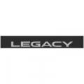 """Наклейка полоса """"Subaru Legacy"""" на лобовое стекло 135 х 18 см"""