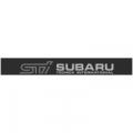 """Наклейка полоса """"STI subaru"""" на лобовое стекло 140 х 18 см"""