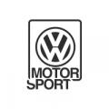 "Наклейка на авто ""Volkswagen Motorsport"""