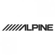 "Наклейка на авто  ""Alpine"""