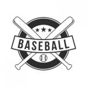 """Наклейка на авто """"Бейсбол"""""""