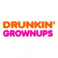 """Наклейка на авто """"Drunkin' grownups"""" EN"""