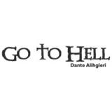 "Наклейка на авто ""Go to Hell Dante"""