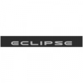 """Наклейка полоса """"Mitsubishi Eclipse"""" на лобовое стекло 135 х 18 см"""