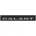 """Наклейка полоса """"Mitsubishi Galant"""" на лобовое стекло 115 х 18 см"""