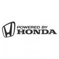 "Наклейка на авто ""Powered by Honda"""