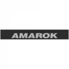 """Наклейка полоса """"Volkswagen Amarok"""" на лобовое стекло 145 х 20 см"""