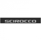 "Наклейка полоса ""Volkswagen Scirocco"" на лобовое стекло 130 х 18 см"