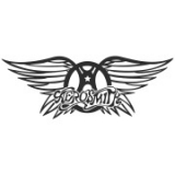 "Наклейка на авто ""Aerosmith"""