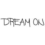 """Наклейка на авто """"Dream on"""""""