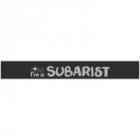"Наклейка полоса ""I'm Subarist"" на лобовое стекло 140 х 18 см"