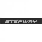 """Наклейка полоса """"Renault stepway"""" на лобовое стекло 130 х 18 см"""