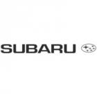 """Наклейка """"Subaru"""" на лобовое стекло 100 х 9,7 см"""