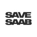 """Наклейка на авто """"SAVE SAAB"""" вид 1"""