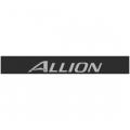 """Наклейка полоса """"Toyota Allion"""" на лобовое стекло 130 х 18 см"""